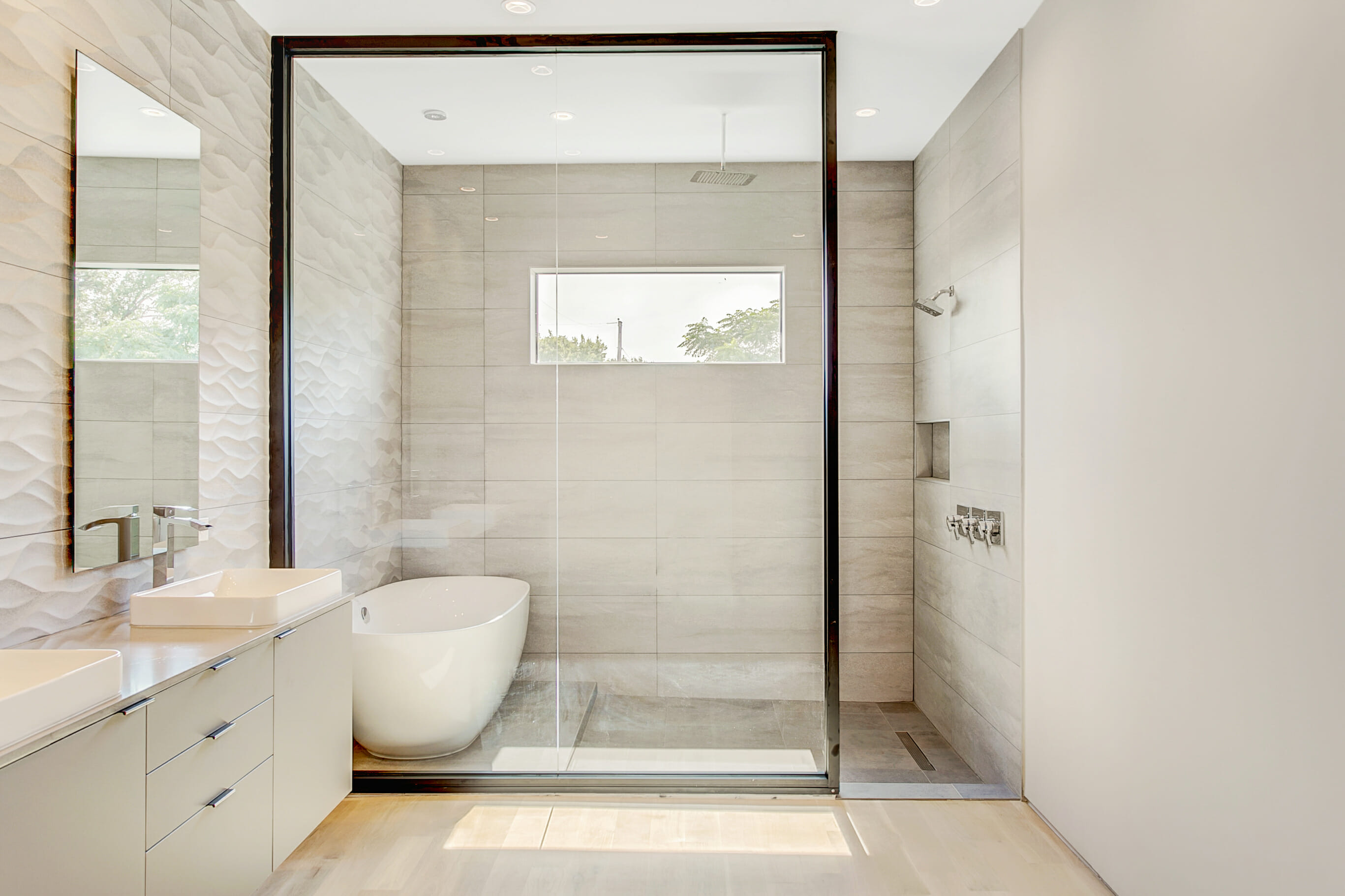 modern bathroom new build