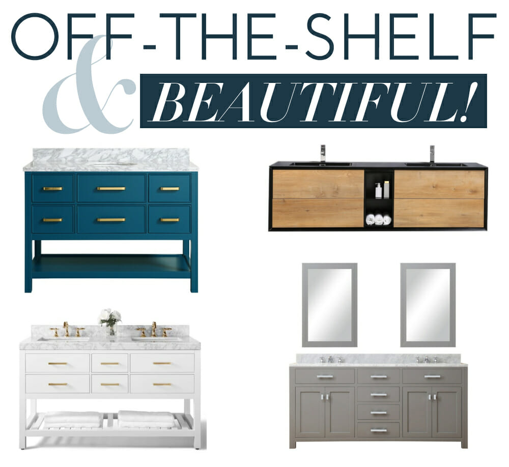 easy off-the-shelf cabinets