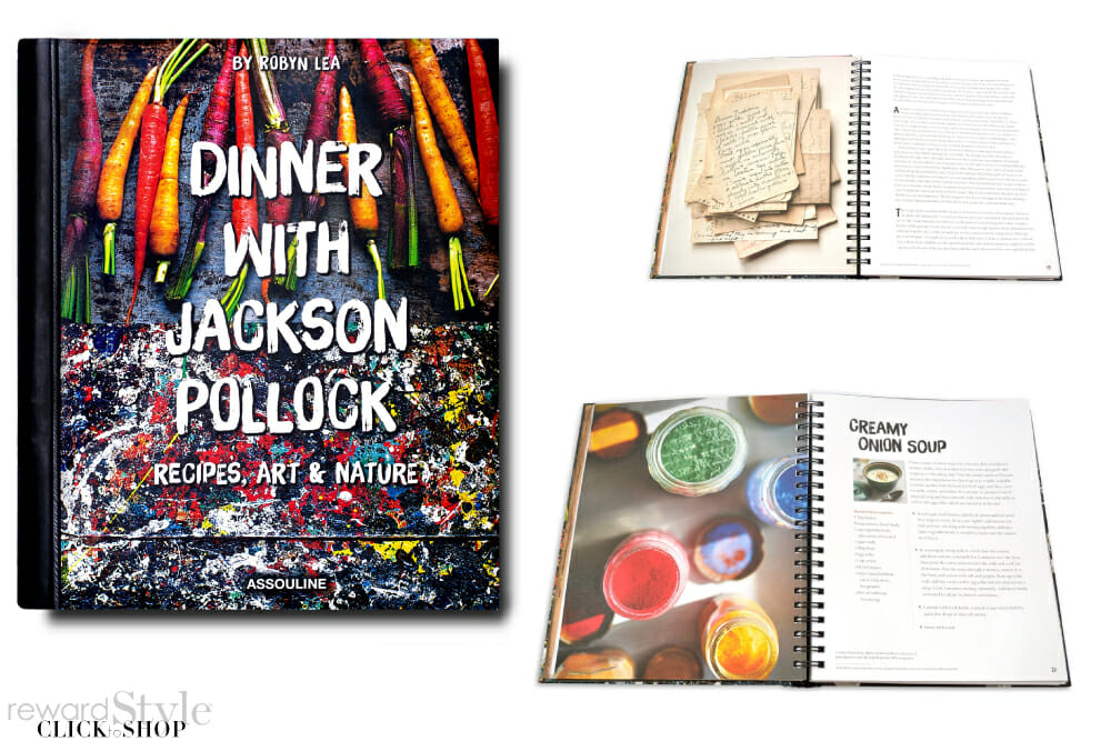 Assouline coffee table book art and cooking