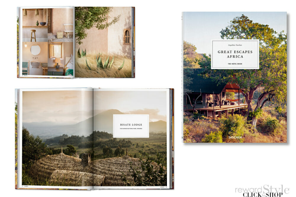 Taschen coffee table book on travel
