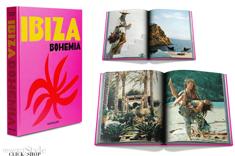 Assouline coffee table book on travel