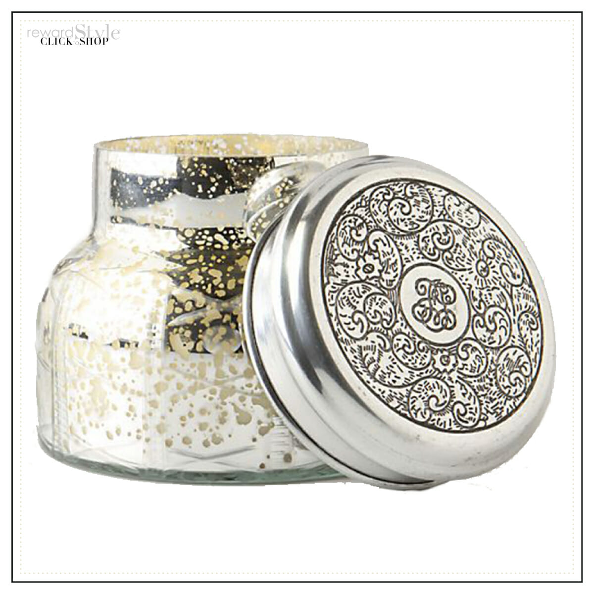 Anthropologie home fragrance candle