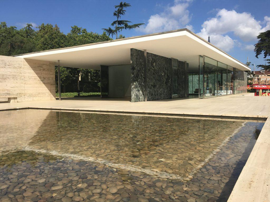 Barcelona Pavilion Mies Rohe