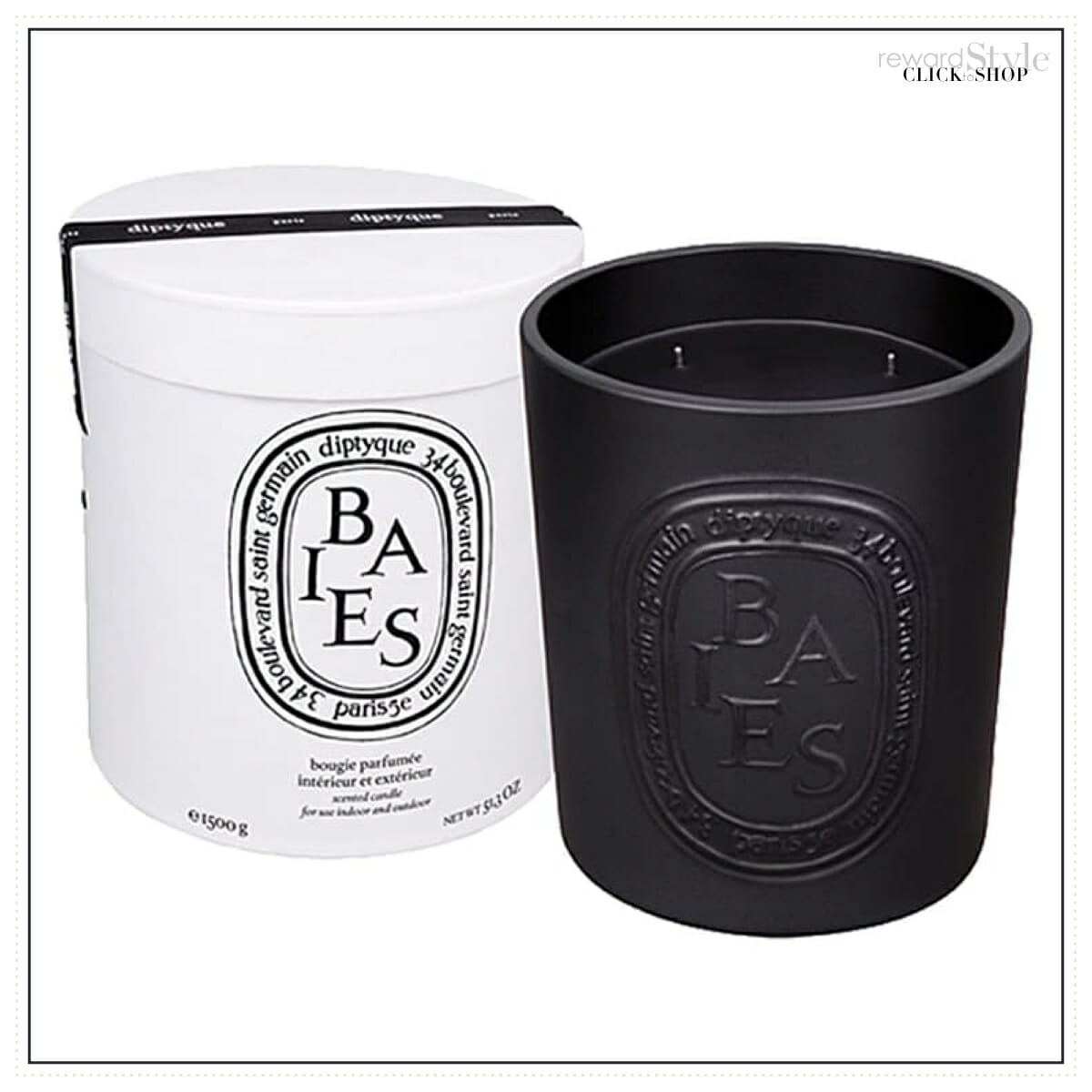Diptyque luxury home fragrance