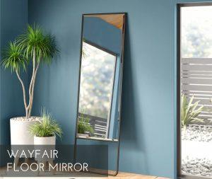 guest room floor mirror