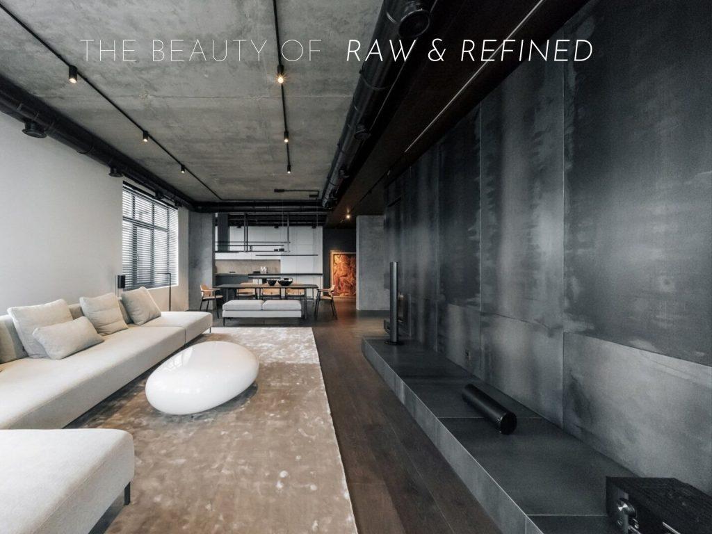 Design Spotlight Raw Modern Style Beyond Interior Design
